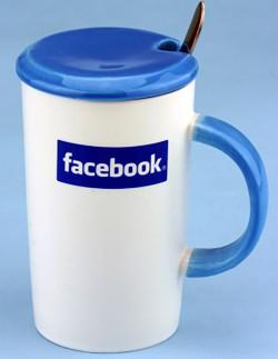 Чашка Facebook time