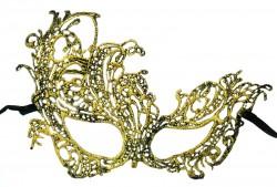 Кружевная маска Секрет золото