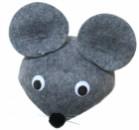 Шляпка Мышка серая