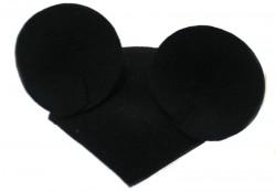 Шляпка Мышка черная