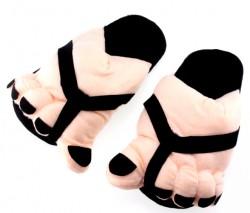 Тапочки супер ноги черные