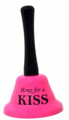 Колокольчик для поцелуев (for kiss) розовый