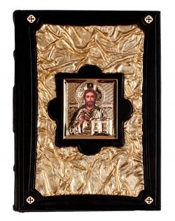 """Библия """"Златая"""" с иконой (украинская, М1)"""