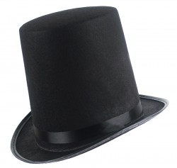 Шляпа Цилиндр черная