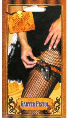 Кобура с подвеской для sexy lady + пистолетик