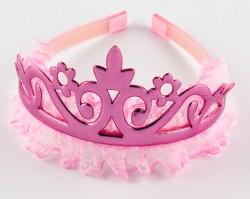 Обруч корона pink