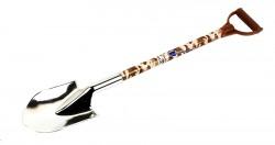 Ручка лопата коричневая камуфляж