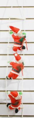 Дед Мороз на лестнице