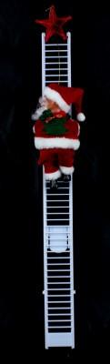 Дед Мороз на лестнице музыкальный