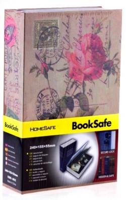 Книга сейф Цветы
