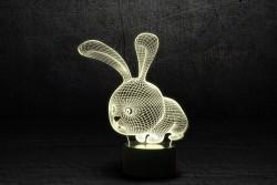 """Детский ночник 3D """"Кролик"""""""