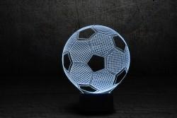 """Яркий 3D светильник """"Футбольный мяч"""""""