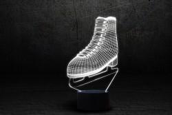 """3D лампа """"Фигурное катание"""""""