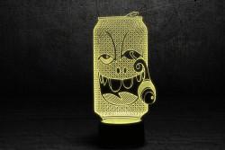 "3D светильник ""Крейзи Бир"""