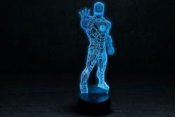 """Светильник 3D """"Железный человек 1"""""""
