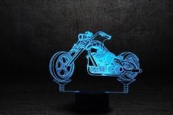 "3D лампа""Мотоцикл 3"""
