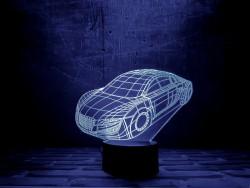 """Яркий светильник с эффектом трехмерного изображения """"Автомобиль"""""""