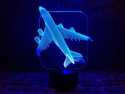 """3D светильник ночник """"Самолет"""""""