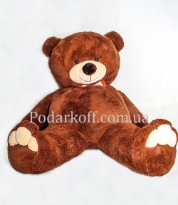 Плюшевый медведь бурый 250см