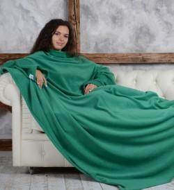 Плед с рукавами HOMELEY ORIGINAL зеленый