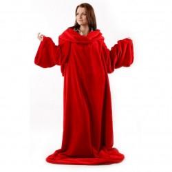 Плед с рукавами HOMELEY ORIGINAL красный