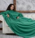Плед с рукавами HOMELEY ORIGINAL XXl зеленый