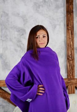 Плед с рукавами HOMELEY ORIGINAL XXl фиолетовый