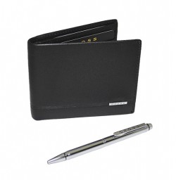 Подарочный набор CROSS SLIM WALLET & AGENDA PEN SET (портмоне+ручка)