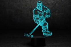 "3D-светильник ""Хоккеист"""