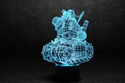 """3D-светильник """"Танк 2"""""""