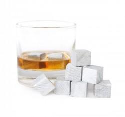 Камни для виски, белые