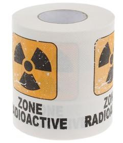 Туалетная бумага «Радиация»