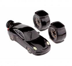 Коньячный набор авто 18 см Porsche 911, 3 предмета