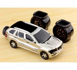 Коньячный набор авто 18 см BMW X5, 3 предмета