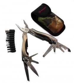 Многофункциональный нож мультитул с комплектом бит