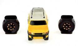 Коньячный набор авто 17 см Toyota FJ Cruiser, 3 предмета
