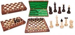 Шахматы JUNIOR, коричневые