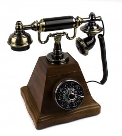 Зажигалка сувенирная рэтро телефон