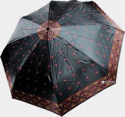 Зонт складной Doppler 74665GFGMAU-1 полный автомат черно-красный