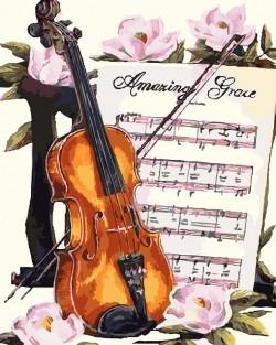 Картина по номерам Скрипичная соната