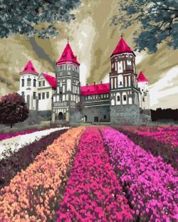 Картина по номерам Заколдованный замок