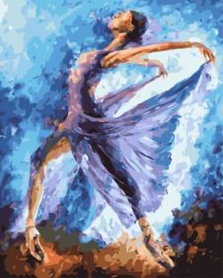 Картина по номерам Танцовщица