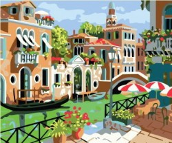 Картина по номерам Летняя Венеция