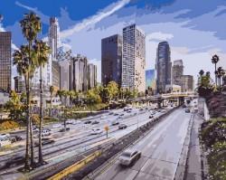 Картина по номерам Летний Лос-Анджелес