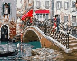 Картина по номерам Мост влюбленных