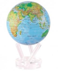 Глобус самоврощающийся Физическая карта Д=216