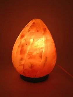 Соляная лампа (SL-11) Пламя (d-12,h-17 см)(8 шт ящ.)(Гималайская соль)
