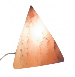 Соляная лампа (S-037) Пирамида (18х18х18см)(4 шт ящ.)(Гималайская соль)