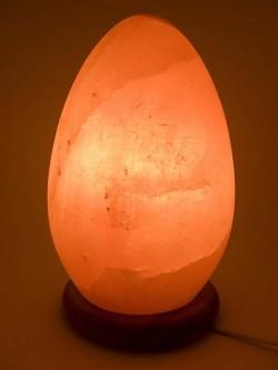Соляная лампа (S-012) Яйцо (20х11 см) (8 шт ящ.)(Гималайская соль)