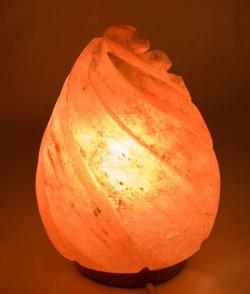 Соляная лампа (S-013) Капля (h-23 cm d-13 cm)(8 шт,ящ.)(Гималайская соль)